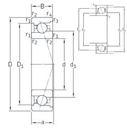 20 mm x 42 mm x 12 mm  SNFA VEX 20 /NS 7CE1 angular contact ball bearings