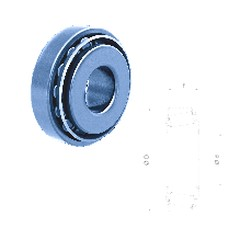 Fersa HM903249/HM903210 tapered roller bearings