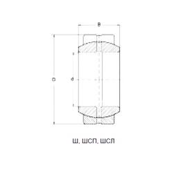 20 mm x 35 mm x 16 mm  Loyal GE20ES-2RS plain bearings