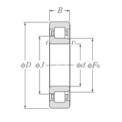 65 mm x 100 mm x 18 mm  CYSD NJ1013 cylindrical roller bearings