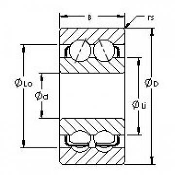 AST 5314 angular contact ball bearings