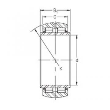 INA SL06 030 E cylindrical roller bearings