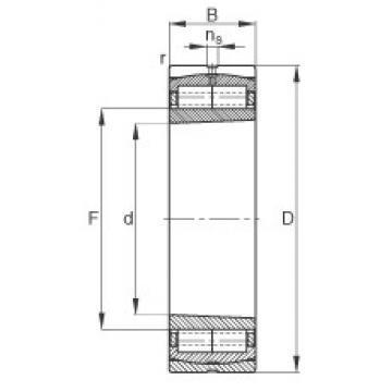180 mm x 320 mm x 86 mm  FAG Z-567601.ZL-K-C3 cylindrical roller bearings