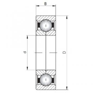 Loyal QJ1013 angular contact ball bearings