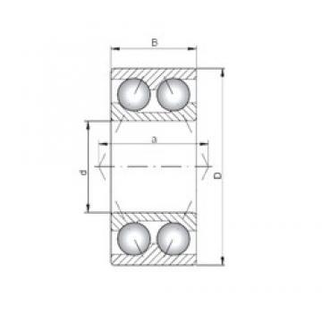 ISO 3314 angular contact ball bearings