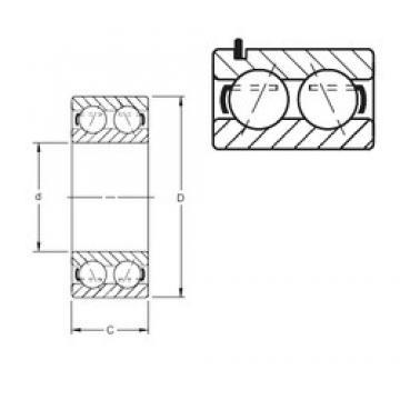 Timken 5314KG angular contact ball bearings