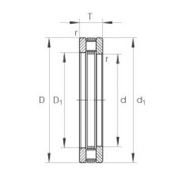 INA 81207-TV thrust roller bearings