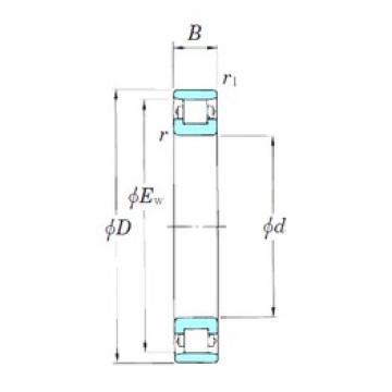 65 mm x 100 mm x 18 mm  KOYO N1013 cylindrical roller bearings
