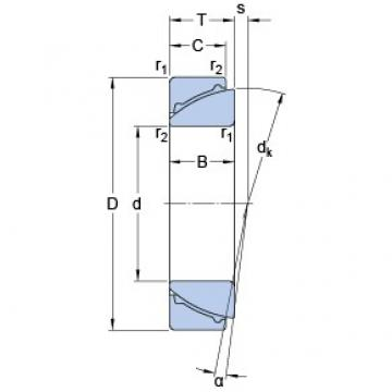 35 mm x 62 mm x 18 mm  SKF GAC 35 F plain bearings