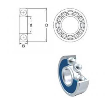 65 mm x 100 mm x 18 mm  ZEN 6013-2RS deep groove ball bearings