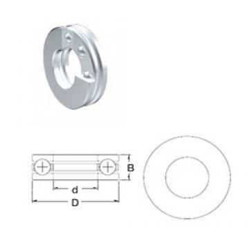 ZEN S51207 thrust ball bearings