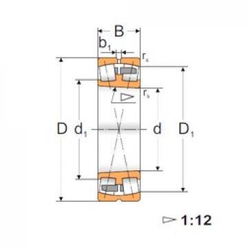 180 mm x 320 mm x 86 mm  FBJ 22236K spherical roller bearings