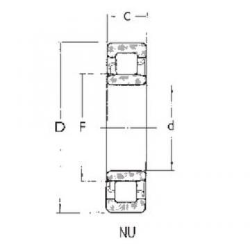65 mm x 100 mm x 18 mm  FBJ NU1013 cylindrical roller bearings