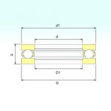 ISB 51207 thrust ball bearings