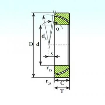 ISB GAC 35 SP plain bearings