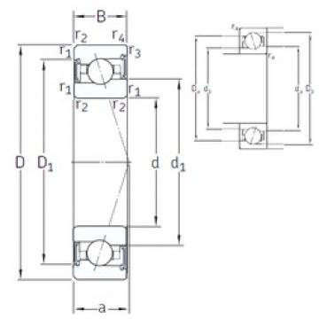 65 mm x 100 mm x 18 mm  SNFA VEX 65 /S 7CE3 angular contact ball bearings