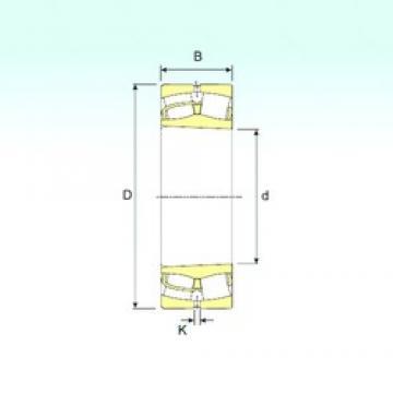 120 mm x 200 mm x 62 mm  ISB 23124 K spherical roller bearings