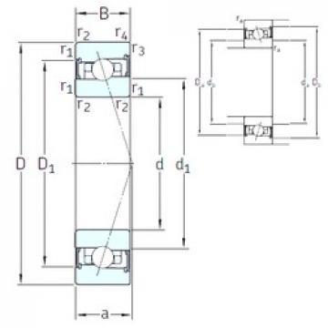65 mm x 100 mm x 18 mm  SNFA HX65 /S 7CE3 angular contact ball bearings
