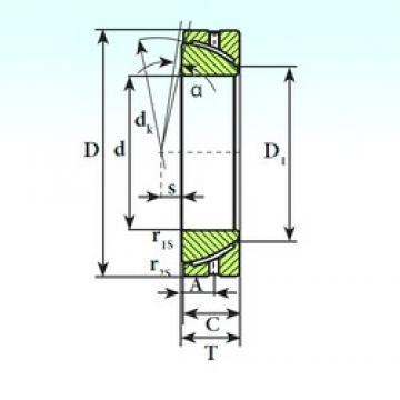 ISB GAC 35 S plain bearings