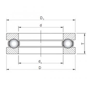 Loyal 51207 thrust ball bearings