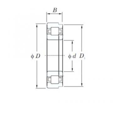 180 mm x 320 mm x 86 mm  KOYO NUP2236 cylindrical roller bearings