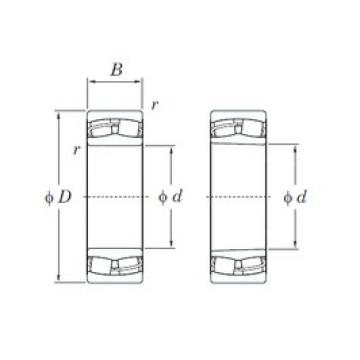 150 mm x 225 mm x 75 mm  KOYO 24030RHK30 spherical roller bearings