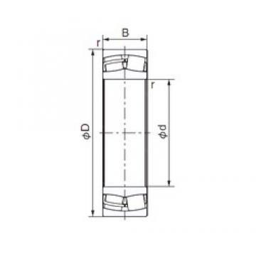 120 mm x 200 mm x 62 mm  NACHI 23124EX1 cylindrical roller bearings