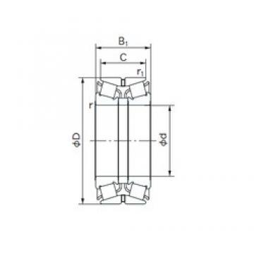 NACHI 120KBE031 tapered roller bearings