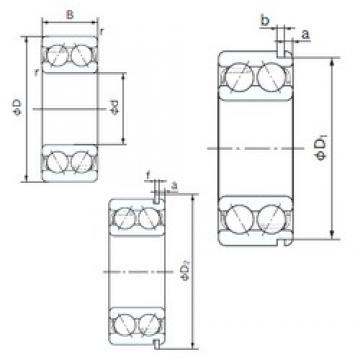 70 mm x 150 mm x 63.5 mm  NACHI 5314NR angular contact ball bearings