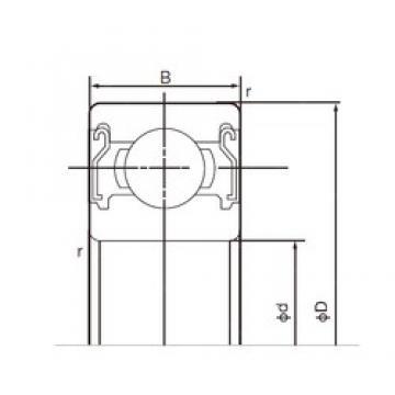 65 mm x 100 mm x 18 mm  NACHI 6013ZZE deep groove ball bearings