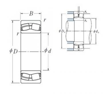 150 mm x 225 mm x 75 mm  NSK 24030CE4 spherical roller bearings