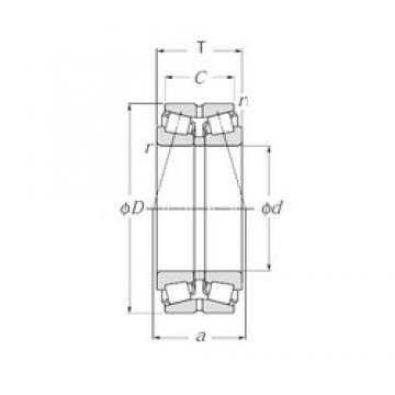 NTN 413124 tapered roller bearings