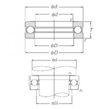 NTN 51207 thrust ball bearings