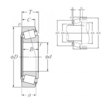 35 mm x 62 mm x 18 mm  NTN 4T-32007X tapered roller bearings